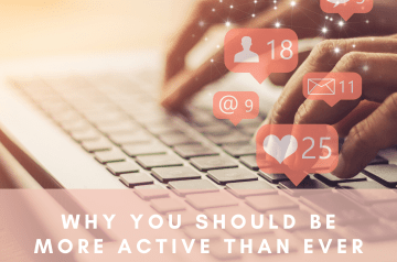 WHY YOU SHOULD BE  MORE ACTIVE THAN EVER