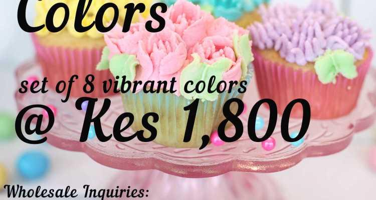 Food Colors GEL