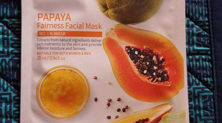 Facial sheet masks