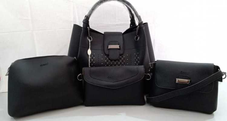 Ladies handbags selection