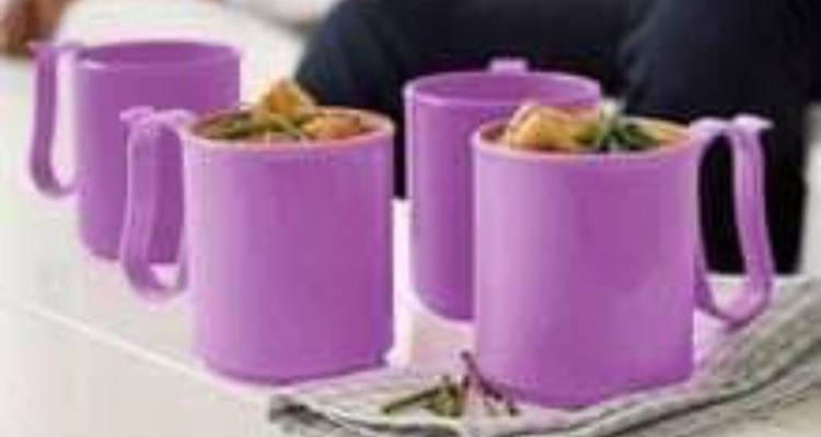 TUPPERWARE HANDY MUGS (300 ml x 4)