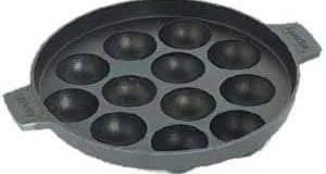 World Star 12-Cavity Nonstick Appam Patra Tawa 18 cm diameter without lid