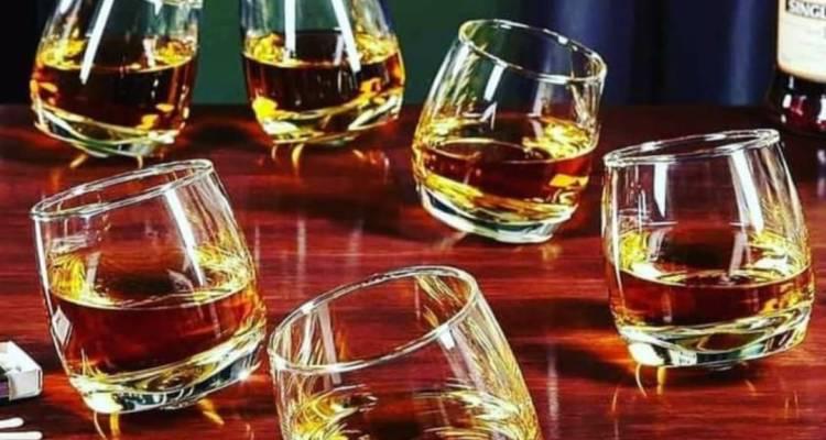 Rock Tumbler glass(short glass)