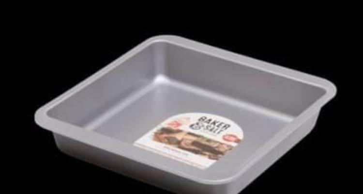Baker & Salt Brownie Pan Baking Tray Dish – Non-Stick