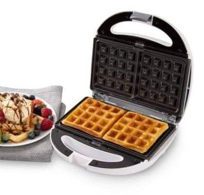 Presto 3 in 1 Sandwich Maker – Interchangeable Waffle and Panini + Toasted Sandwich Plates