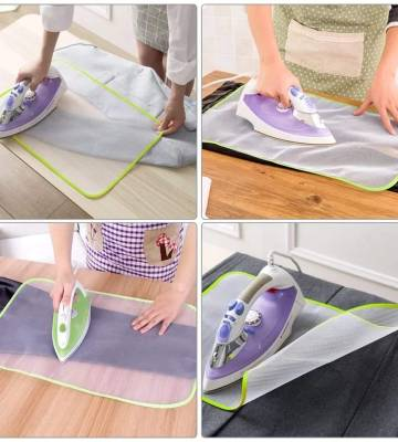 Ironing Protective Press Mesh x 2 pieces