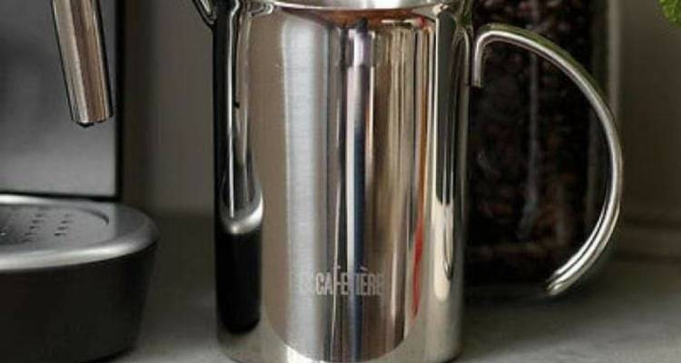 La Cafetiere Stainless Steel Milk Jug, 600ml
