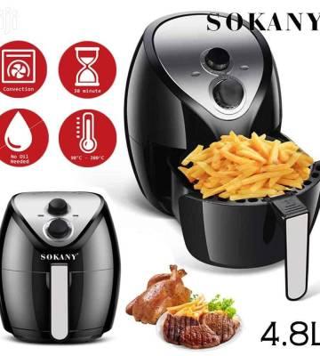 4.8L 1500W Sokany electric air fryer