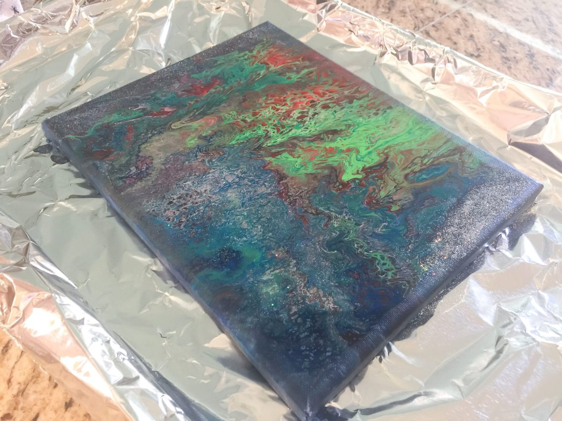 How to do an acrylic pour or paint pouring