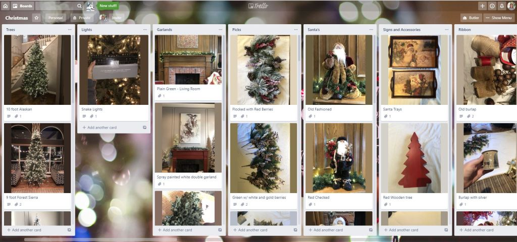 Electronically Organize Your Christmas Decor