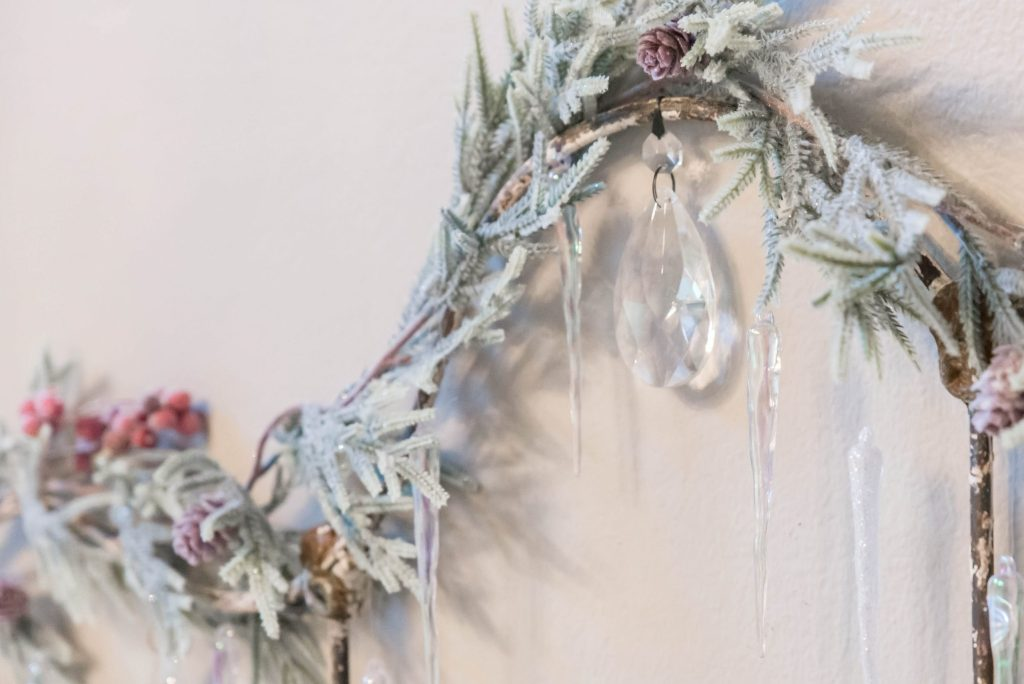 Frosted Garland