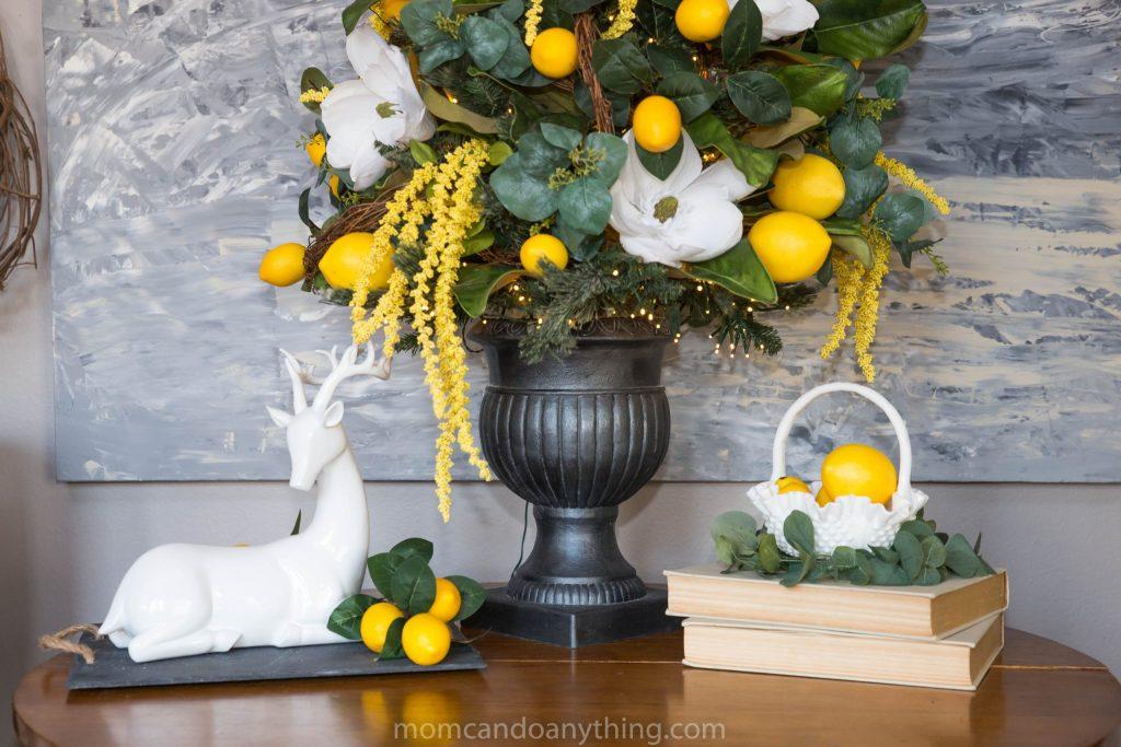 Lemon Spring Decor