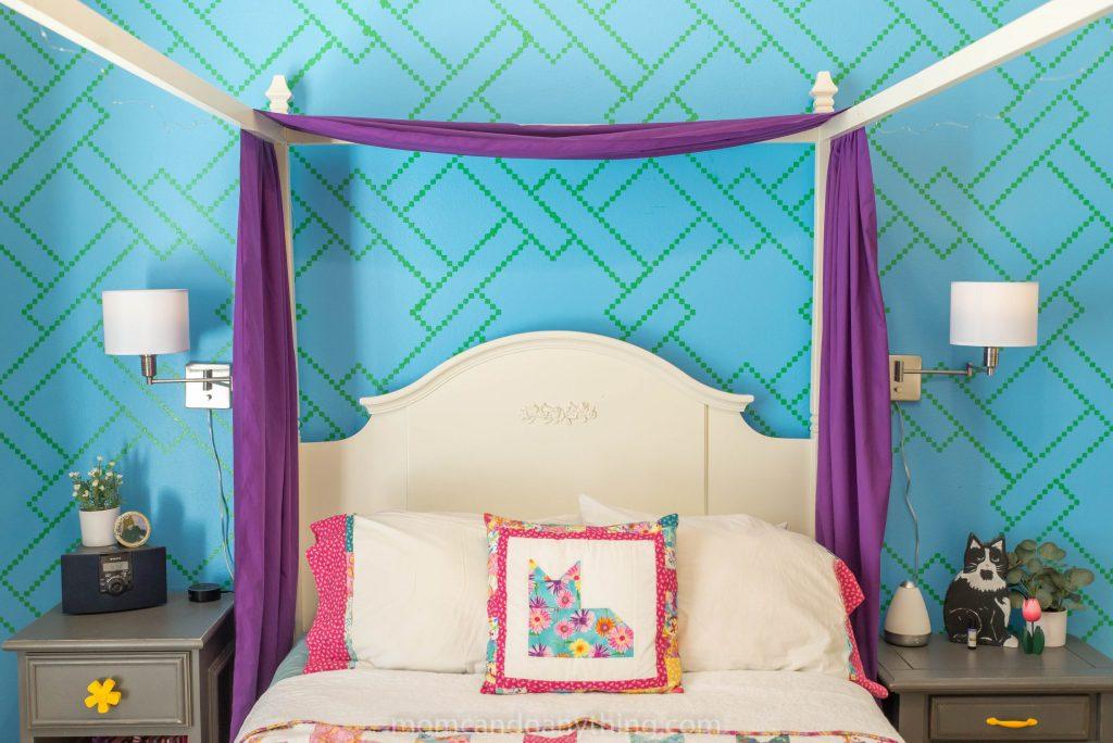 Teen girl bedroom reveal