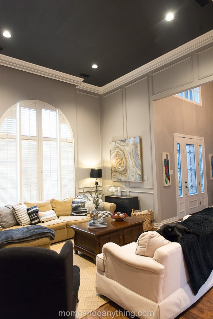 Black Paint on Ceiling