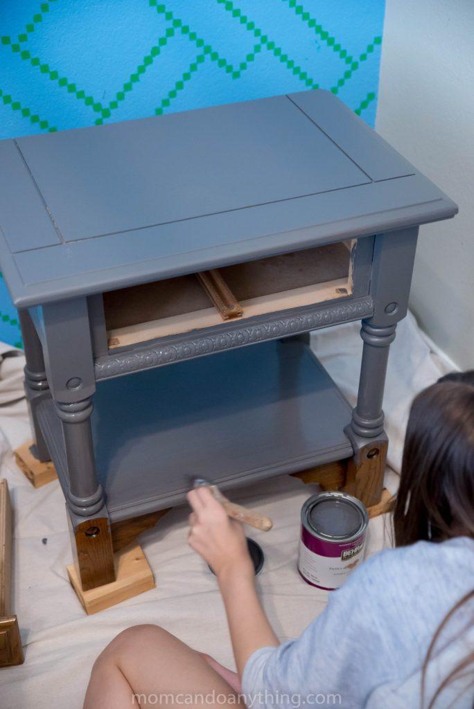 painting nightstand