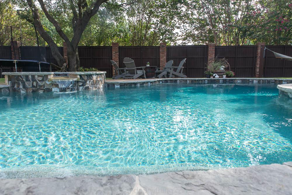 Backyard Makeover Pool