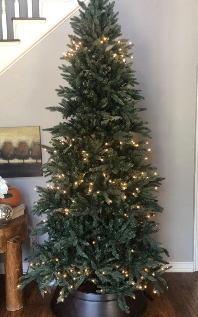removing pre-lit lights