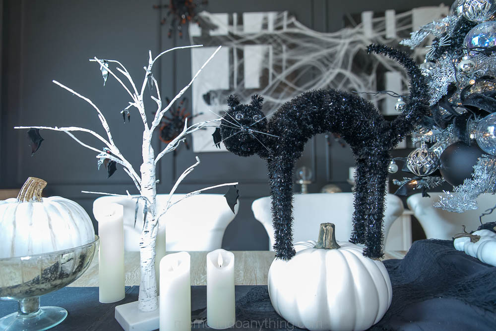Black Cats Bats and Pumpkins
