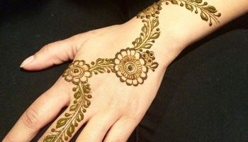 Simple Floral Vine Mehndi Design Floral Arabic Mehndi Designs