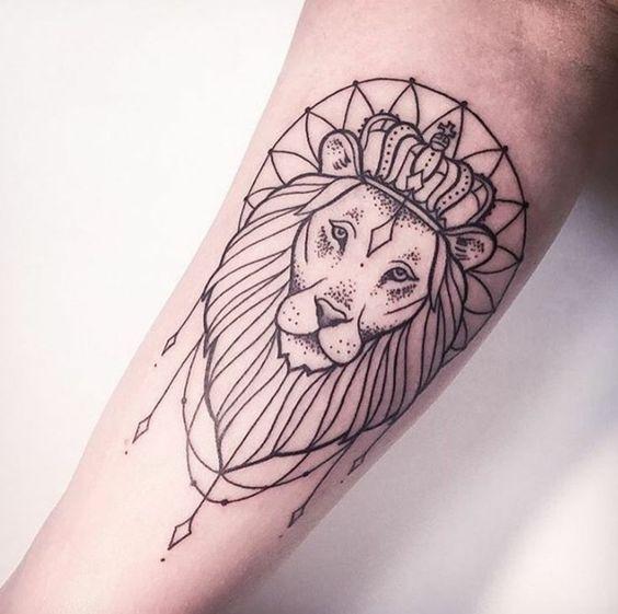 502c3fdb6 Alluring Lion Tattoo Lion Simple Tattoos Simple Tattoos Momcanvas