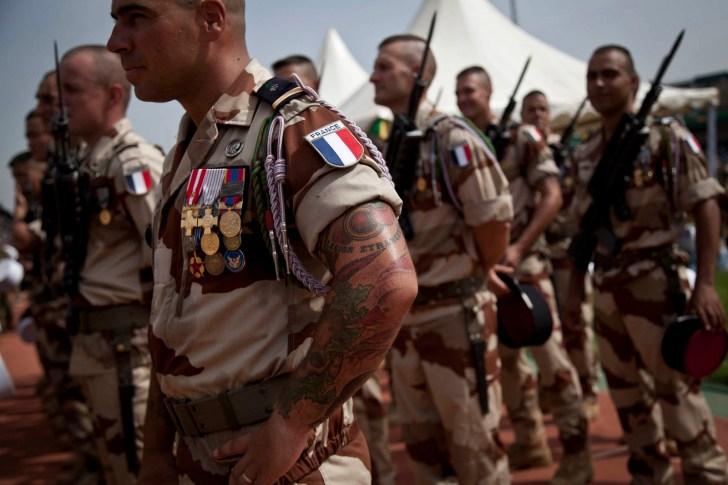 フランス軍兵士
