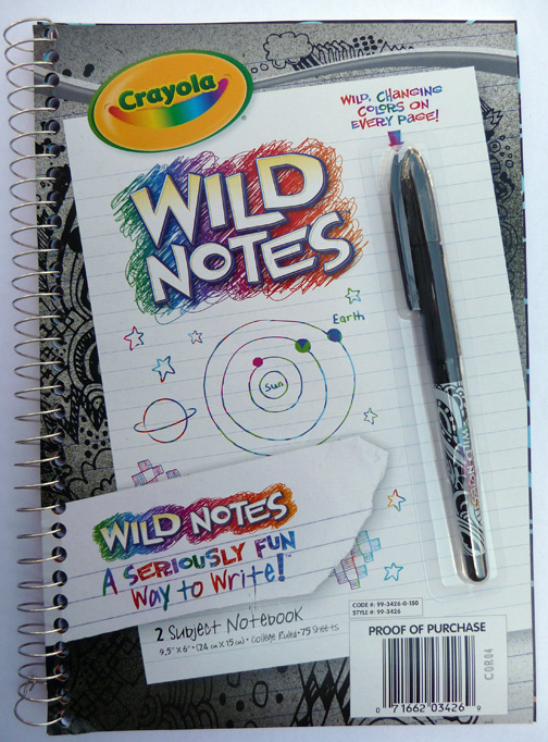 REVIEW: Crayola Wild Notes