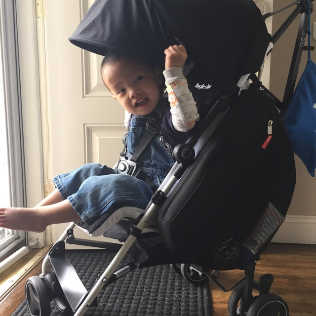 REVIEW: Inglesina Net Stroller & Skip Hop Grab and Go Saddlebag