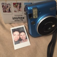Our first #Instax selfie!