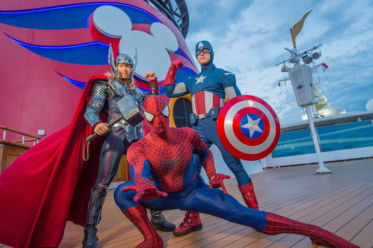 "Marvel at the Wonder that is ""Marvel Day at Sea"""
