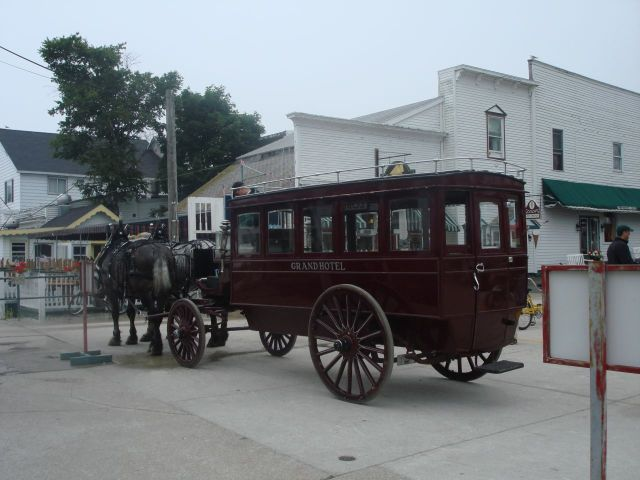 The Stage Coach to The Grand Hotel.