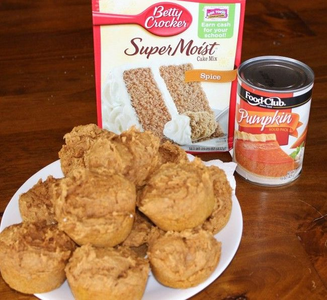 Pumpkin Muffins Two Ingredients Momcrieff