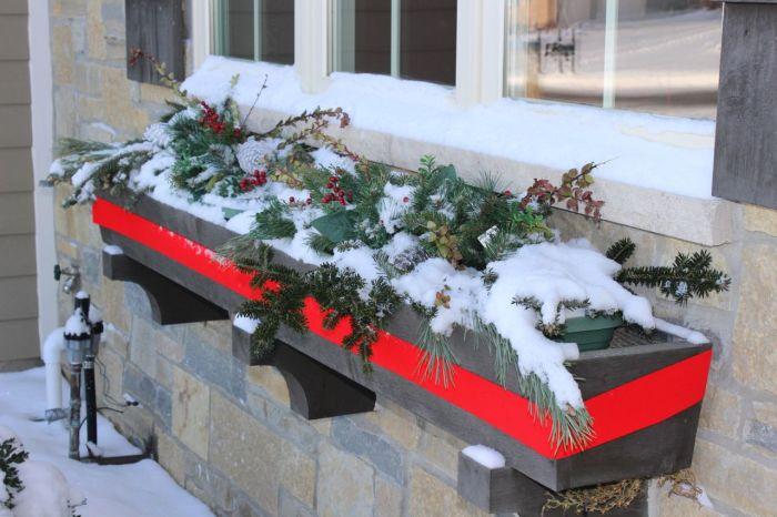 A pretty window planter.