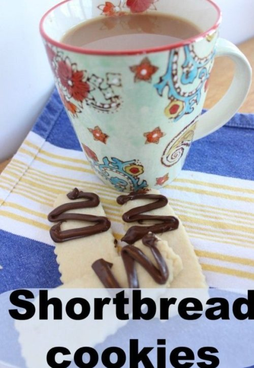 Shortbread cookies – scratch recipe with 4 ingredients!