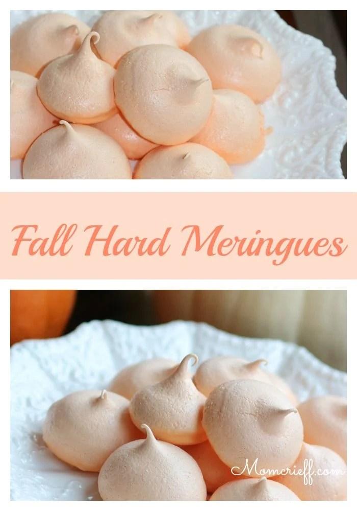 Fall Hard Meringues