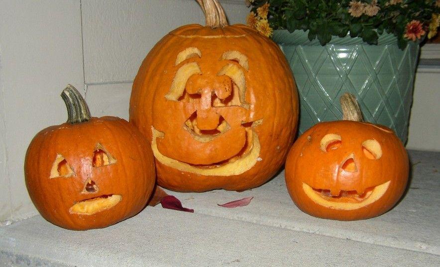 Porches and pumpkins