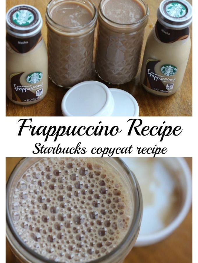 My Frappuccino recipe – Starbucks copycat