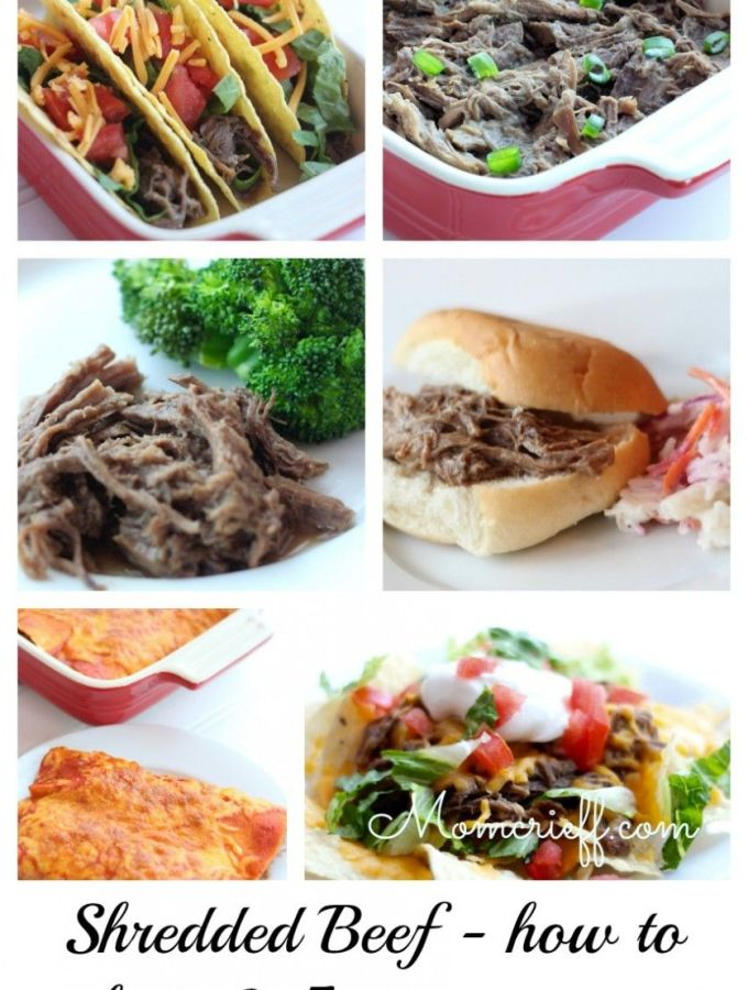 Shredded Beef – How to make it & 5 recipes you can use it in.