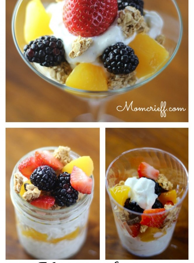 How to host a yogurt bar! A great breakfast idea.