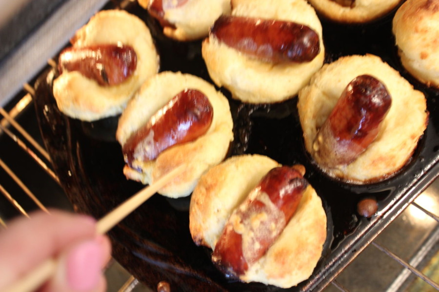 Toad in the Hole (with sausage)