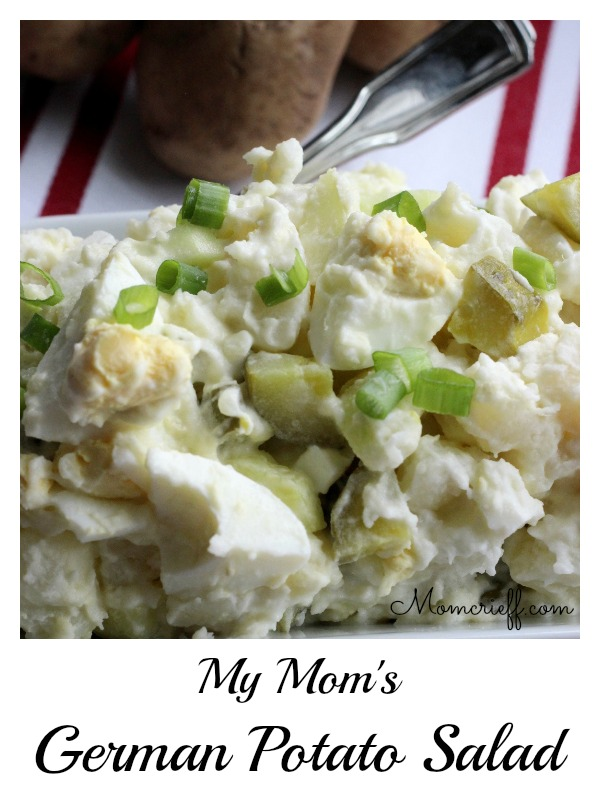 My Mom's German Potato Salad