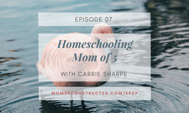 Episode 07: Homeschooling Mom of 5 with Carrie Sharpe