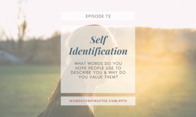 Episode 72: Self Identification