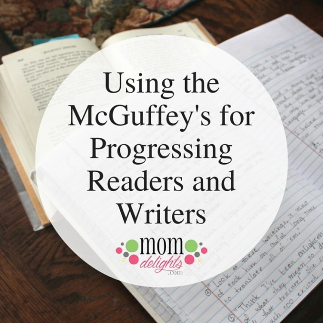 using the mcguffey readers for progressing readers and writers