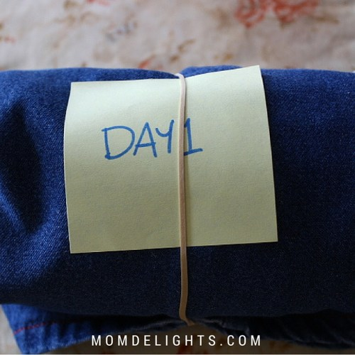 Extreme Packing Tips from a Mom of 15 {tutorial}