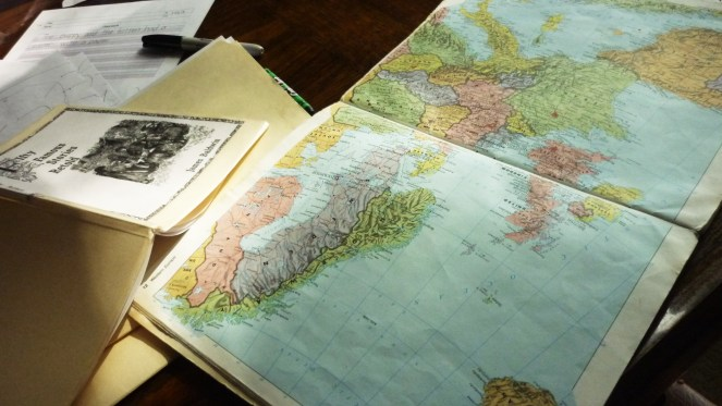 maps and books for homeschool unit study G.A. Henty