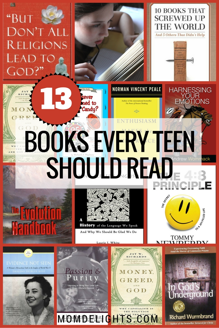 13 Books Every Teen Should Read