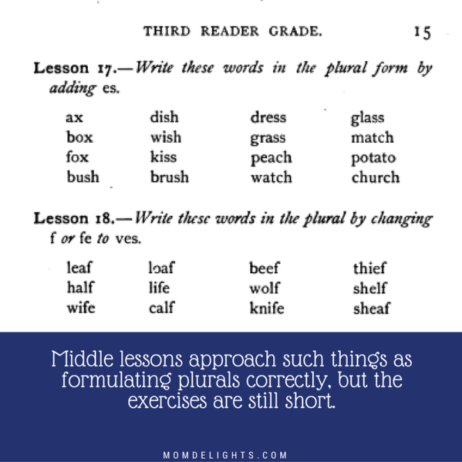 Long's language spelling and plurals
