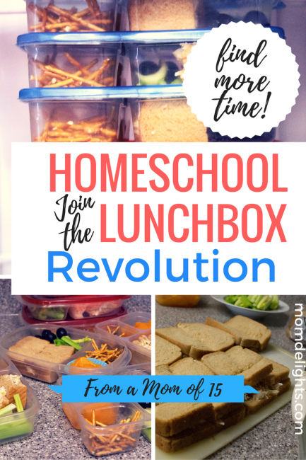 How to Find More Time with Homeschool Lunchboxes