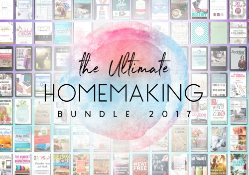 Ultimate Homemaking Bundle Flash Sale!