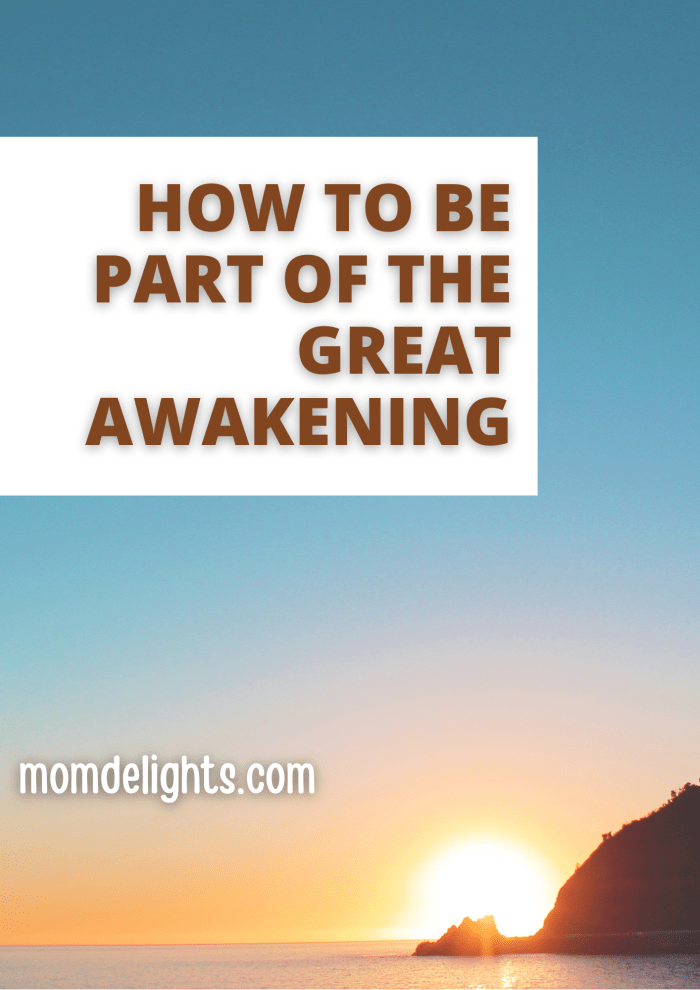 How to be Part of the Great Awakening